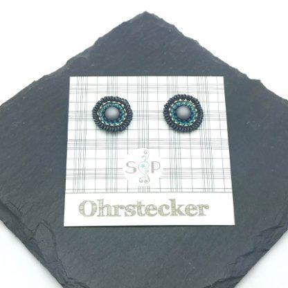 Mandala Ohrstecker mousy