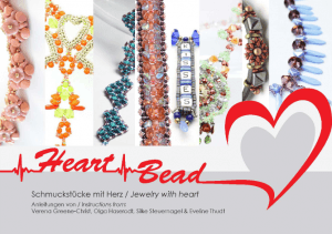 EBook Heart Bead
