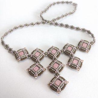 Collier Tessas Double Tiles