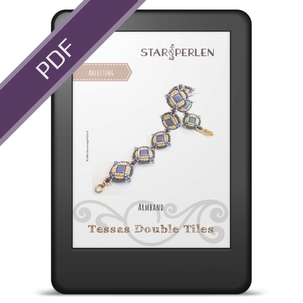 Anleitung Armband *Tessas Double Tiles*